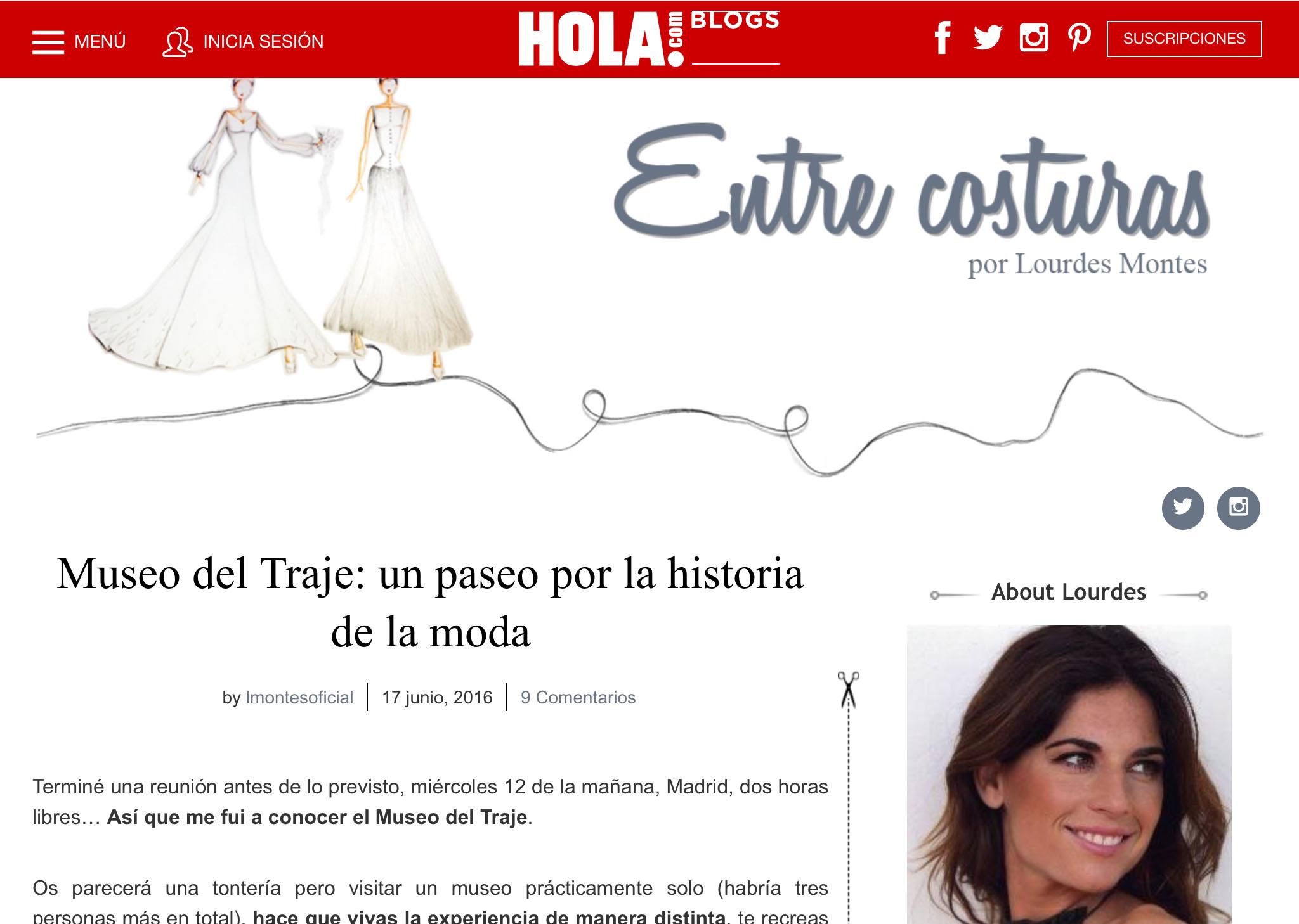 Blog Lourdes Montes
