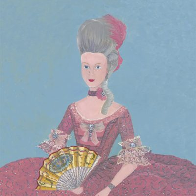 Illustration of the Queen Mary Antoinette of France